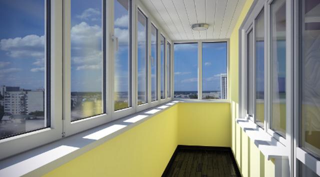 Качественное и недорогое остекление Г-образных балконов