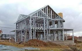 Использование профильных труб при строительстве домов