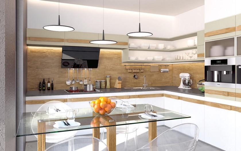Фасад кухни — выбор профессионалов