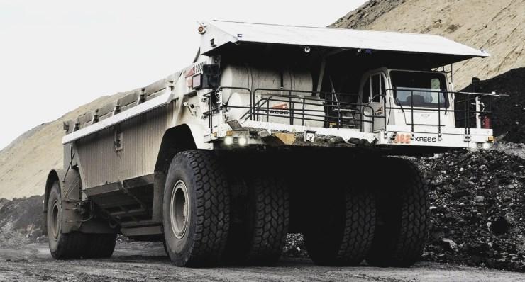 Самый необычный угольный самосвал — Kress 200CIII Coal Hauler