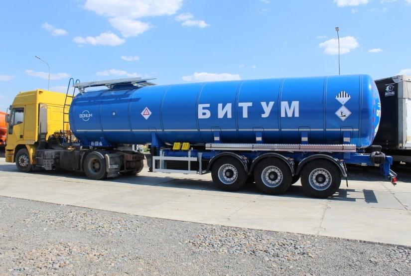 Машины для транспортирования битумных материалов