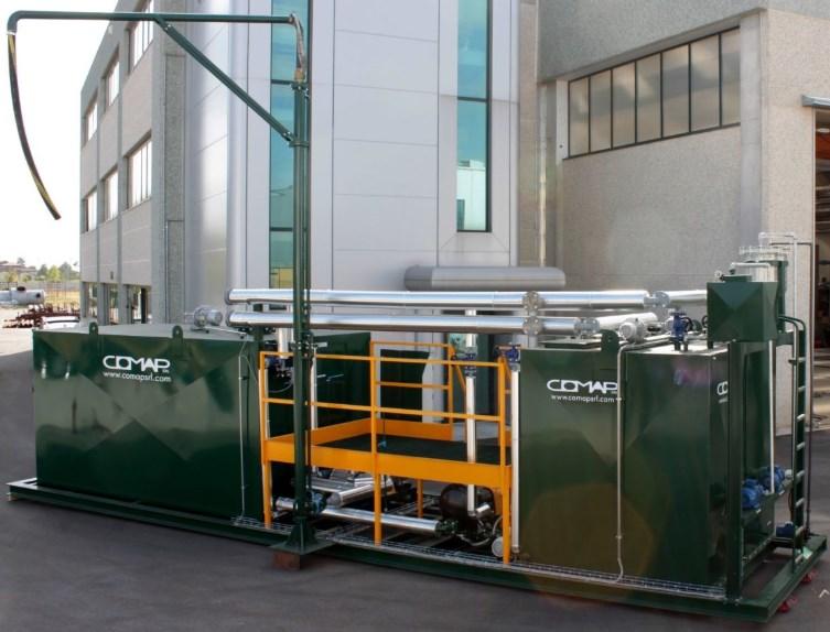 Оборудование для диспергирования компонентов битумных эмульсий