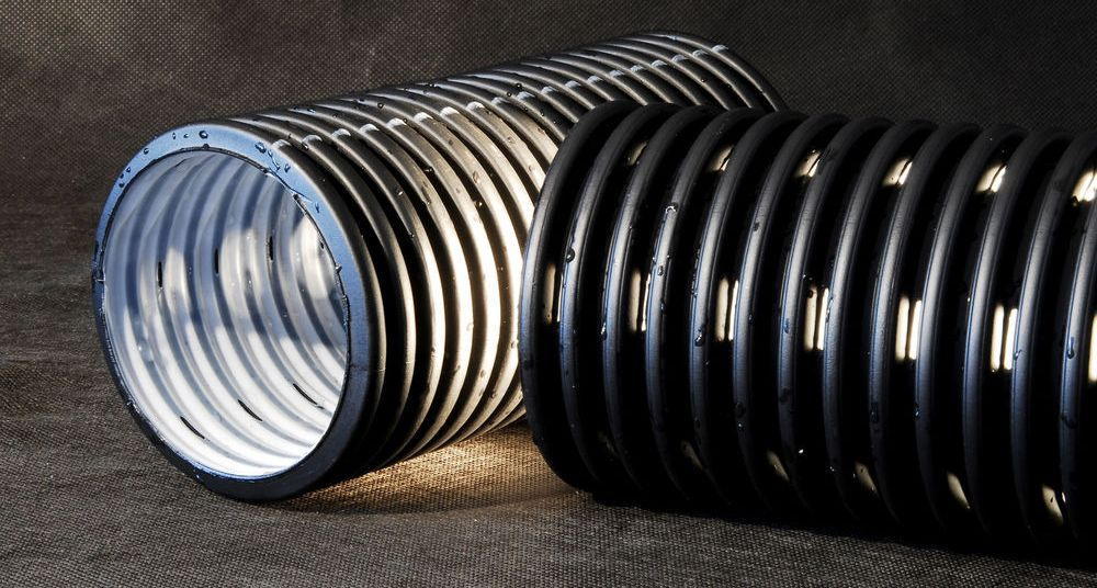 Канализационные дренажные трубы