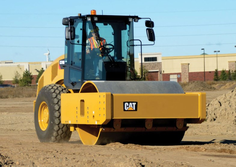 Машины для уплотнения дорожных оснований и покрытий
