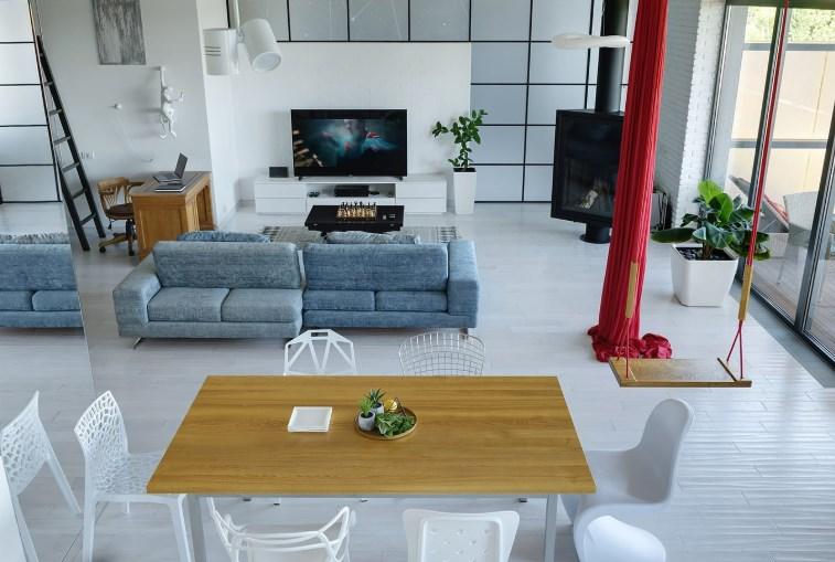 Дизайн спальні у стилі мінімалізм від дизайнера інтер'єру Ірини Карликової в Києві