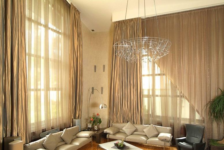 Шторы как элемент дизайна квартиры